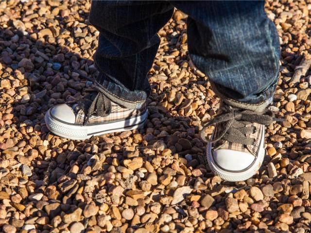 stap voor stap kinderschoenen
